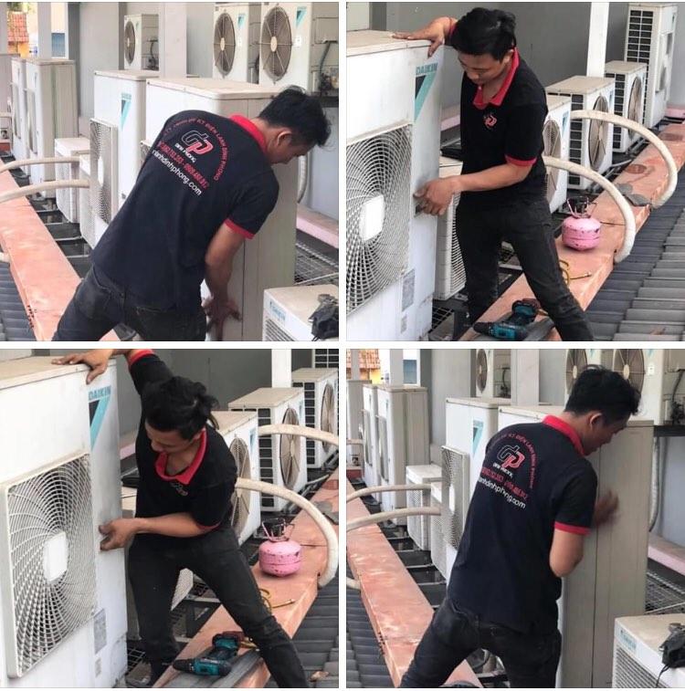 Trung tâm bảo hành máy lạnh Daikin tại TPHCM