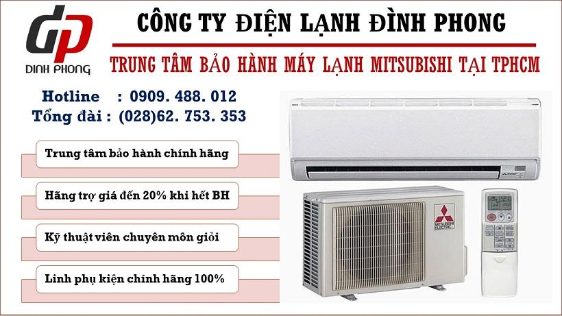 Trung tâm bảo hành máy lạnh Mitsubishi tại Tphcm