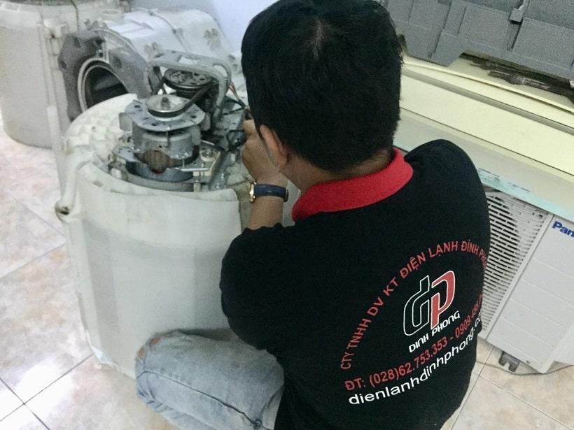 Vệ sinh máy giặt quận 4 Giá rẻ
