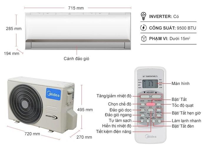 Trung tâm bảo hành máy lạnh Midea