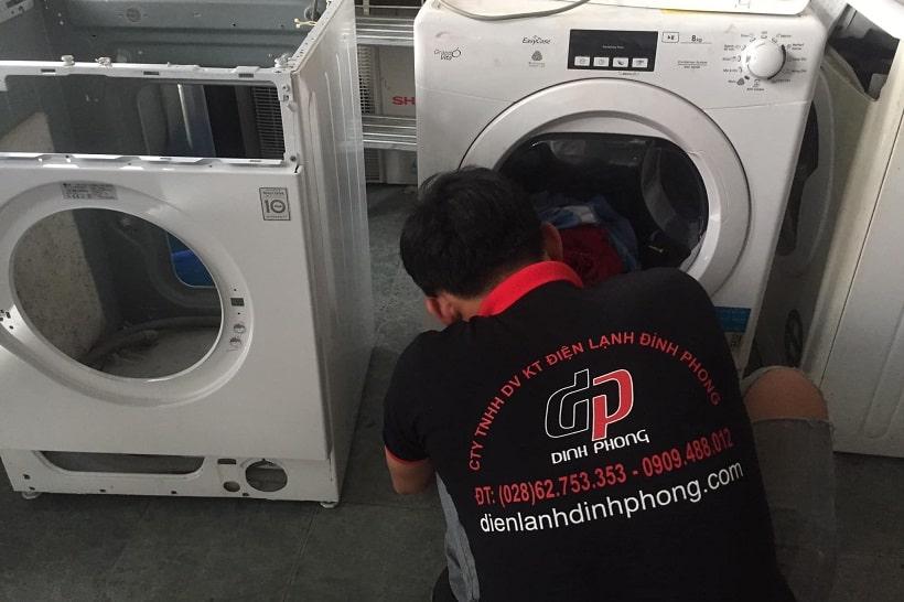 Vệ sinh máy giặt quận 2 giá rẻ