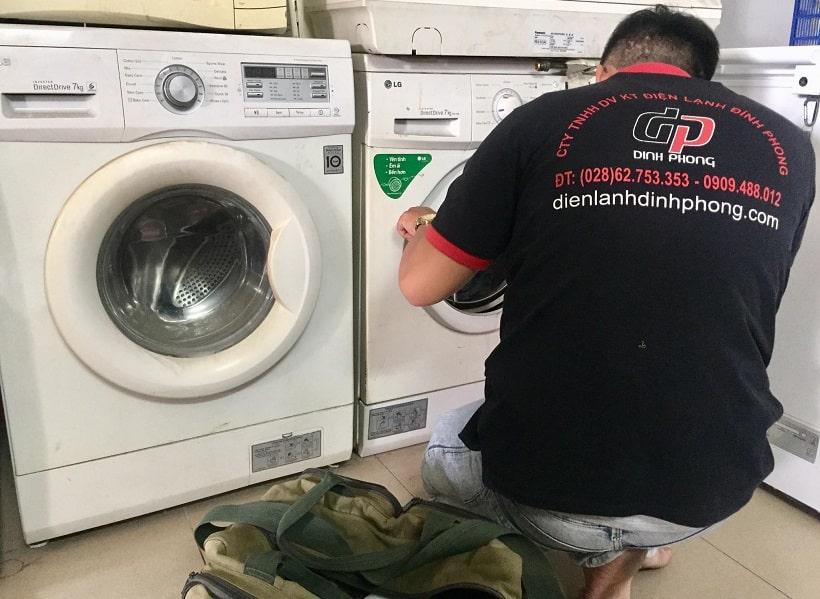 Sửa máy sấy tại quận Tân Phú